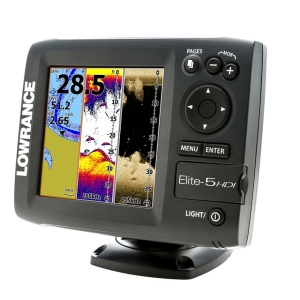 lowrance elite 5 hdi fish finder